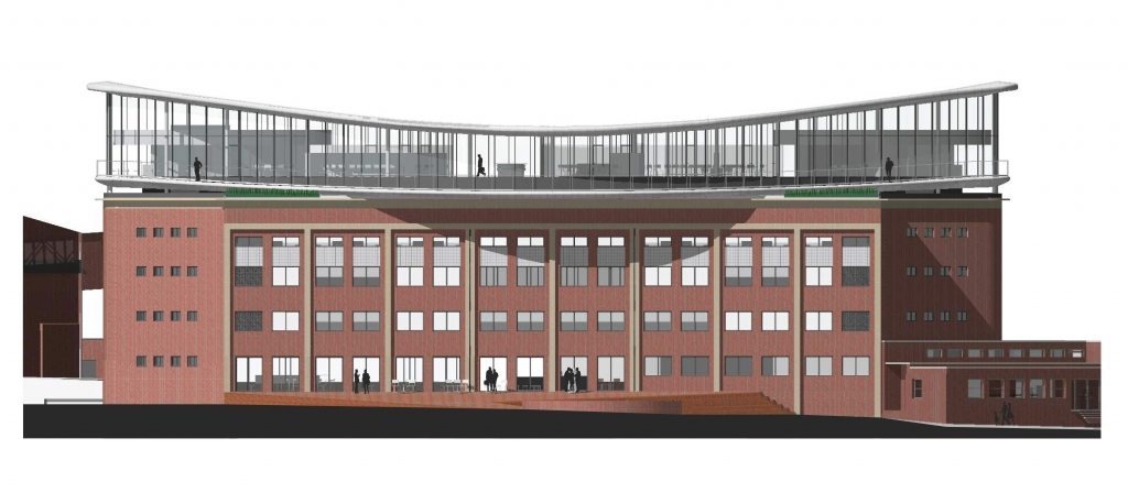 Společnost Kofola připravuje výstavbu nového sídla v Dolních Vítkovicích