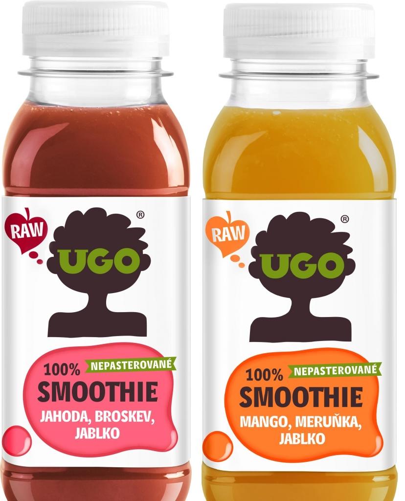 Novinka: UGO smoothies v lahvičkách. Protřepat… A na zdraví!