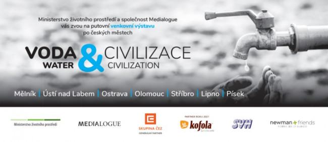 Kofola podpořila putovní výstavu Voda a civilizace