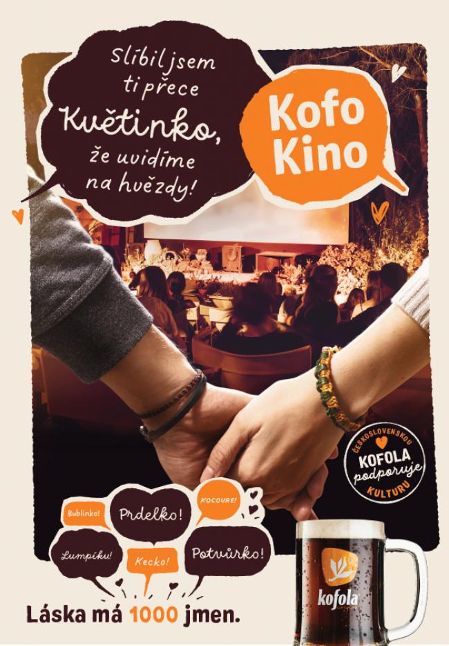 Léto s Kofolou zve do Kofokina nebo na výlety po stopách slavných milenců