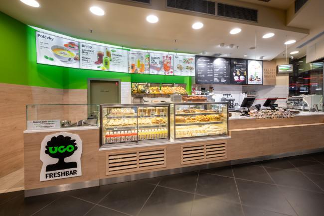 Freshbar UGO nově občerstvuje cestující na Hlavním nádraží v Praze